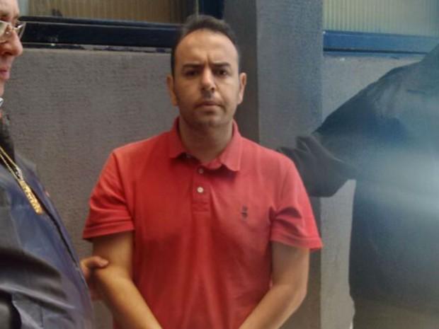 O empresário Michel Pierre de Souza Cintra, acusado de golpe milionário pela internet  (Foto: Reprodução/EPTV)