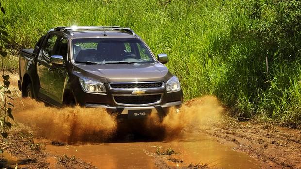 Veja fotos da Chevrolet S10