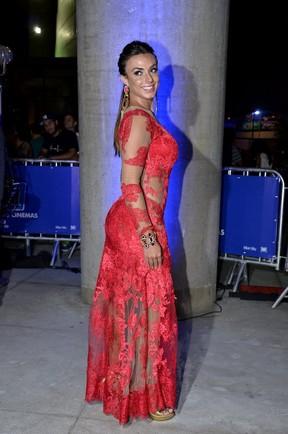 Nicole Bahls em pré-estreia no Rio (Foto: Roberto Teixeira / EGO)