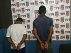 Polícia prende dois por suspeita de assalto e furto em Porto Velho