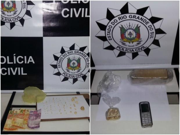 Operação Scanner, tráfico de drogas, Sobradinho (Foto: Divulgação/Polícia Civil)