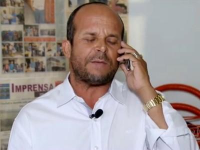 Carlinhos Vidente fala palpites para o Brasileirão (Foto: Reprodução/Rede Globo)