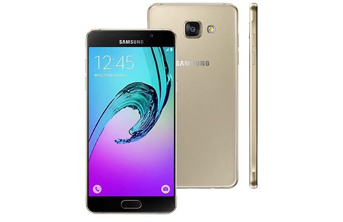 Galaxy A5 (2016) possui tela de 5,2 polegadas com resolução Full HD (Foto: Reprodução/Elson de Souza) (Foto: Galaxy A5 (2016) possui tela de 5,2 polegadas com resolução Full HD (Foto: Reprodução/Elson de Souza))
