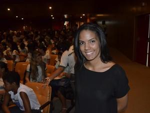 Taiana Costa, representante do Ministério do Meio Ambiente (Foto: John Pacheco/G1)