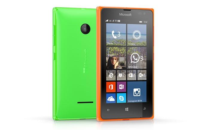 Lumia 435 é o smart mais acessível da Microsoft até hoje (Foto: Divulgação)