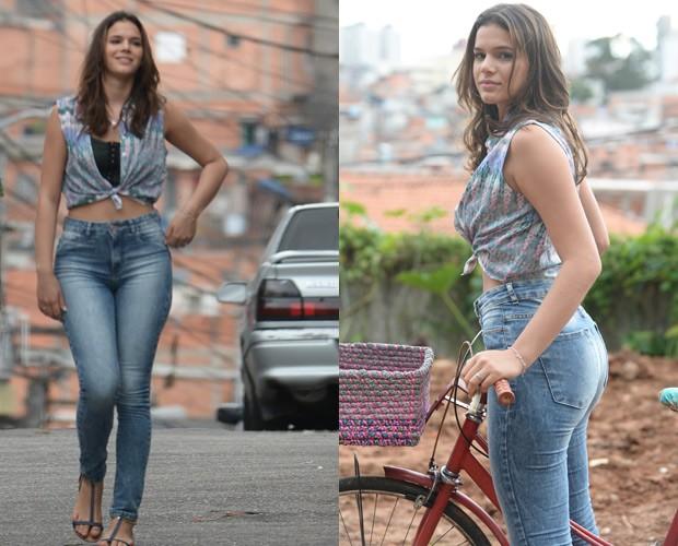Bruna interpreta Mari na novela 'I love Paraisópolis' (Foto: Globo/Zé Paulo Cardeal)