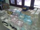 Após 16 horas, PF contabiliza R$ 1,5 mi de dinheiro apreendido em veículo