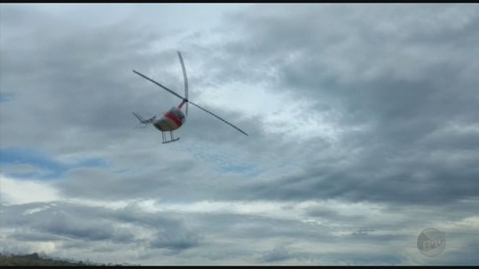 Vítima de acidente com helicóptero recebe alta de hospital em Passos