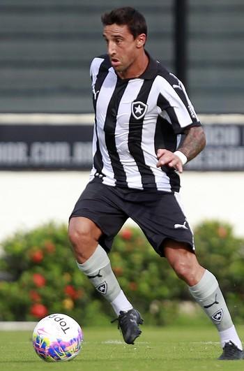 Salgueiro Botafogo (Foto: Vitor Silva/SSPress/Botafogo)