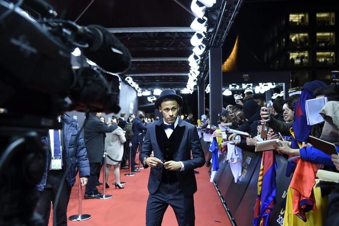 Neymar cerimônia Fifa (Foto: EFE)