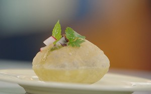 Receita indiana de pani puri do Jamie Oliver