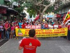 Grupos protestam contra reformas da Previdência e do Ensino Médio na PB
