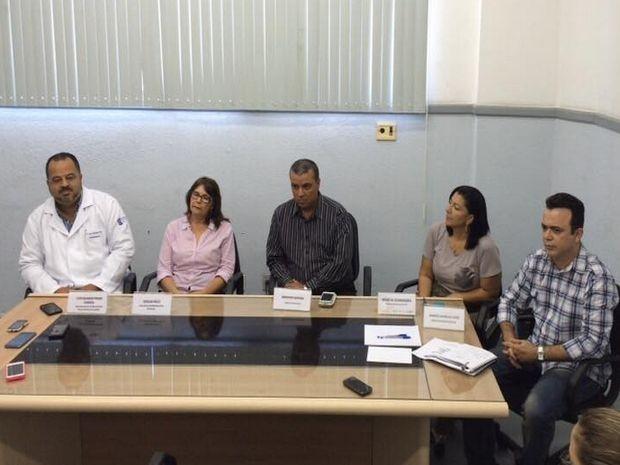 Microcefalia é tema de coletiva em Aracaju  (Foto: Tasssio Andrade/G1)