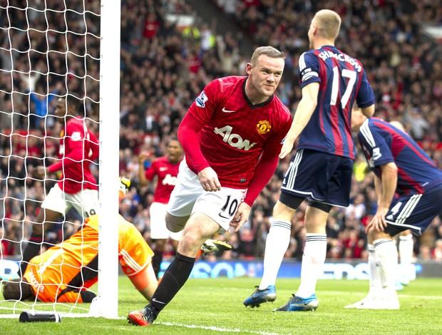 Rooney, MAnchester United e Stoke - AP (Foto: Agência AP)