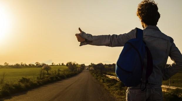 carona; transporte; mochileiro; turismo (Foto: ThinkStock)
