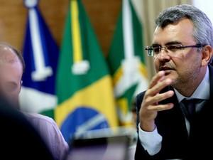 Chefe da Casa Civil Paulo Taques (Foto: GcomMT)