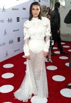 Kim Kardashian rouba as atenções em prêmio de moda em Los Angeles
