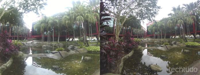 Comparação entre Onn e GoPro  (Foto: Luciana Maline/TechTudo)