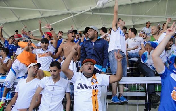 Torcida, Cruzeiro, Independência (Foto: Marco Antônio Astoni / Globoesporte.com)
