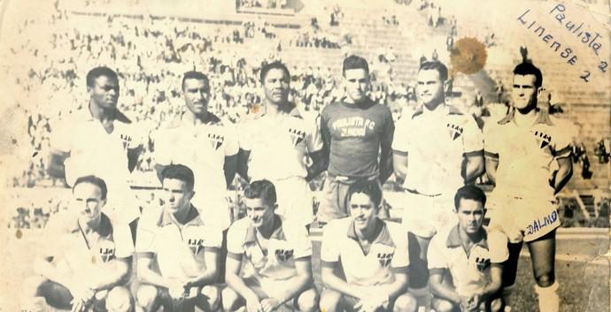 Paulista x Linense, 1953, Dalmo, Torneio dos Finalistas (Foto: Acervo Paulista FC)