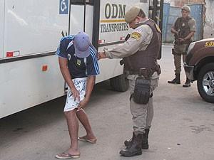 Operação Itinga (Foto: Sérgio Cavalcante/PM)