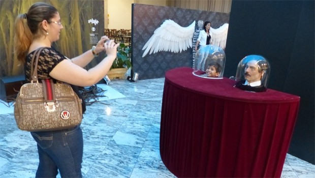 Exposição chega à Maringá e você pode conhecer mais sobre o mundo da novela (Foto: Divulgação/RPC TV)