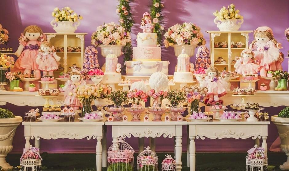 Festa infantil veja fotos de decoraç u00e3o provençal e com toque rústico M u00e3es GNT # Decoração De Festa Infantil Realeza Luxo