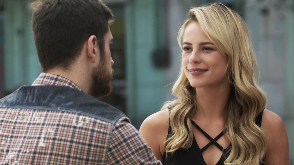 Jeiza concorda e avisa que não quer saber de cobranças: (Foto: TV Globo)