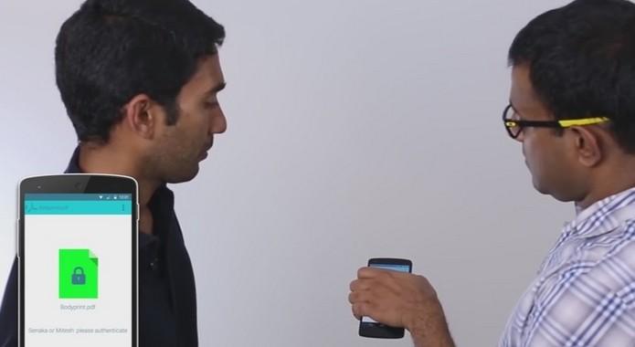 Yahoo! apresentou tecnologia que traz autenticação biométrica a dispositivos básicos (Foto: Reprodução/YouTube)