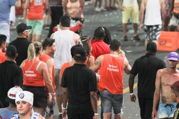 Alessandra Ambrósio em Salvador (Foto: Marcelo Brammer/ Ag. News)