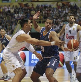 Hettsheimeir, Bauru x Real Madrid, Copa Intercontinental de basquete (Foto: EFE)