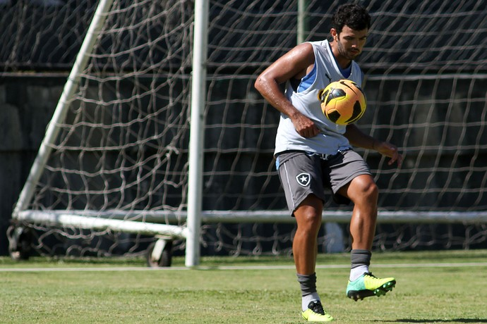 Jeferson Paulista Botafogo (Foto: Satiro Sodré / SS Press)