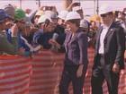 Dilma  Rousseff visita polo de alta tecnologia em Campinas, SP