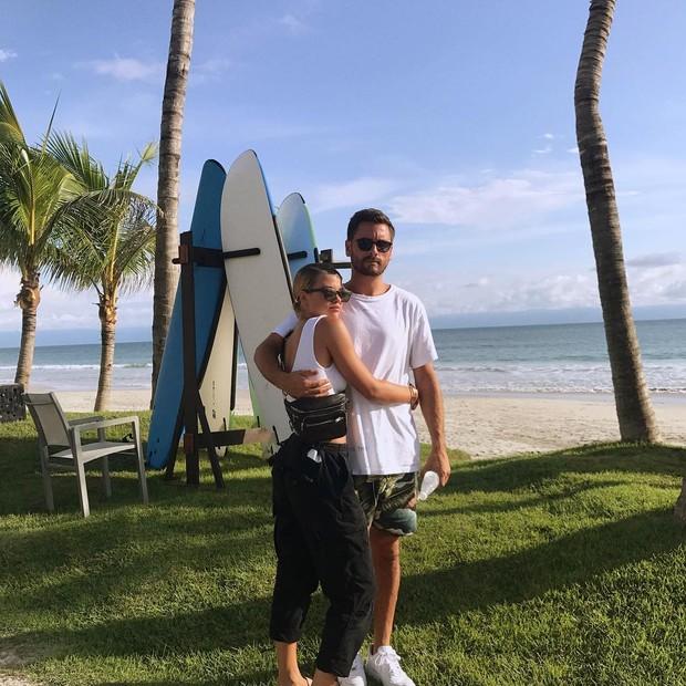 Sofia Richie e Scott Disick (Foto: Reprodução/ Instagram)