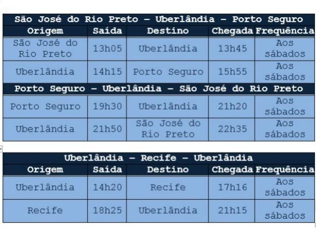 Oferta de voos começa em 7 de fevereiro (Foto: Divulgação)