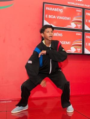 João Vitor, nadador maranhense, ingressos, Jogos Escolares, Olimpíadas (Foto: Anderson Santiago/Divulgação)