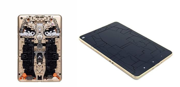 Tablet tem peças encaixáveis que se transforma em robô (Foto: Divulgação/Xiaomi)