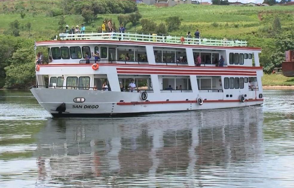 Retomada também colabora com o turismo no rio na região (Foto: Reprodução / TV TEM )