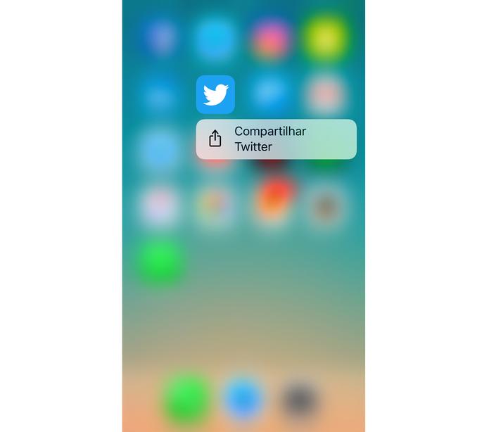 Twitter não oferece atalhos (Foto: Reprodução/Lucas Mendes)