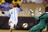 Novamente sem Messi, Argentina bate Equador nos Estados Unidos