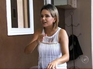Cabeleireira pode deixar de trabalhar para cuidar do filho (Foto: Reprodução/TV TEM)