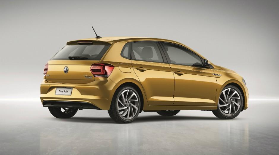 Novo Polo, modelo apresentado na segunda-feira ao mercado pela Volkswagen (Foto: Divulgação)