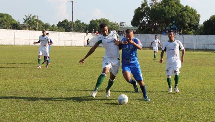 Manaus F.C e Nacional Borbense série b amazonense (Foto: João Paulo Oliveira/Agência Manaus F.C)