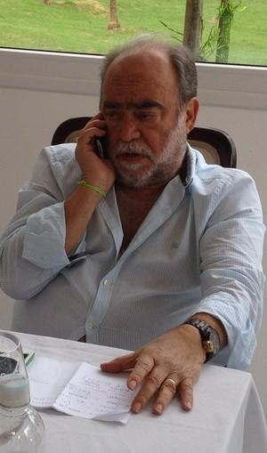 Delfim de Pádua Peixoto, presidente da Federação Catarinense de Futebol - FCF (Foto: Paulo Evangelista)