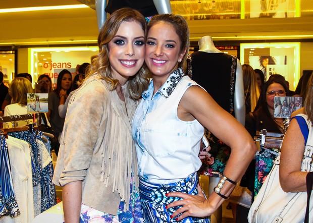 Fabiana Justus e Ticiane Pinheiro (Foto: Manuela Scarpa/Foto Rio News)