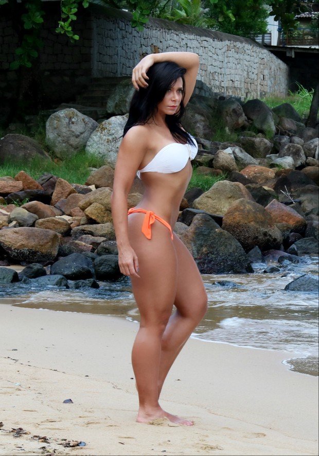 Musa fitness Carol Porcelli (Foto: Divulgação / MF Assessoria)