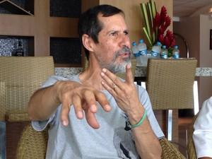 Eduardo Jorge veio a Alagoas para cumprir agenda eleitoral (Foto: Natália Souza/G1)
