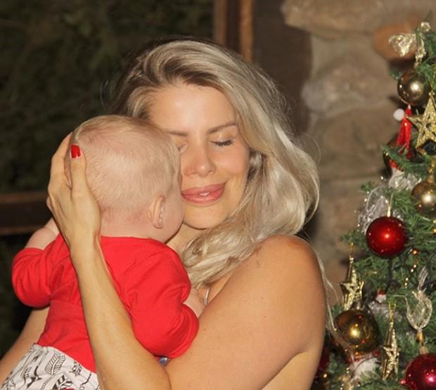 Karina Bacchi no Natal (Foto: Reprodução/Instagram)
