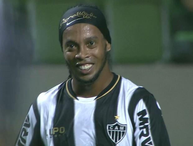 Ronaldinho Gaúcho; Atlético-MG; Independência (Foto: Reprodução / Premiere FC)