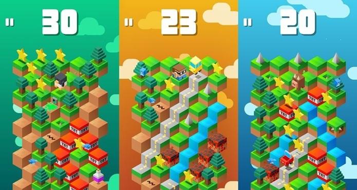 Sucesso no iOS, o viciante Down the Mountain chegou ao Android nesta semana (Foto: Divulgação)